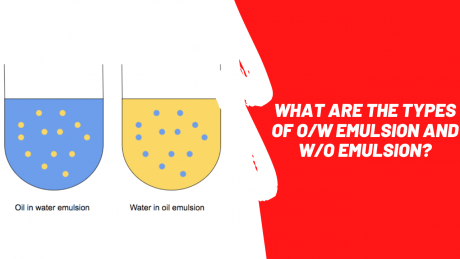OW emulsion and WO emulsion